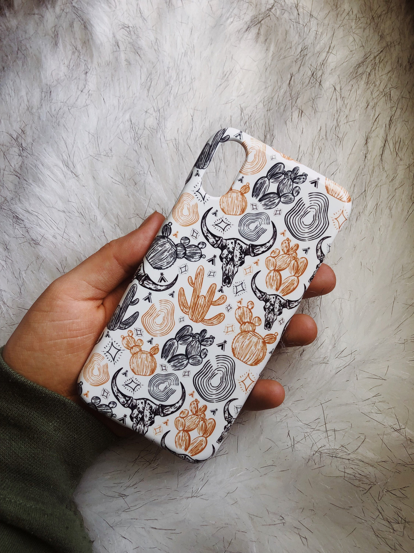 Boho Skull & Cactus - iPhone / Samsung Case