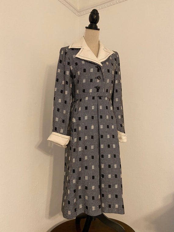 1960s I. Magnin Dress