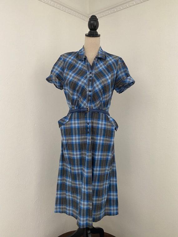 1950s Dan River House Dress