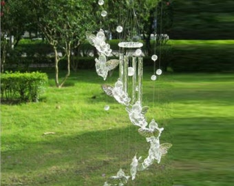 Angel Wind Chime French Country Cottage Barnyard Shabby Etsy