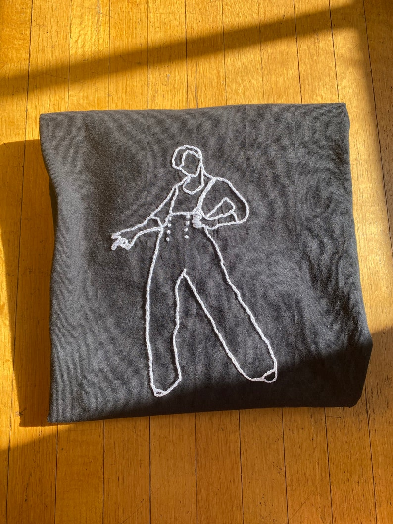 Harry Styles Fine Line Hand-Embroidered Tshirt