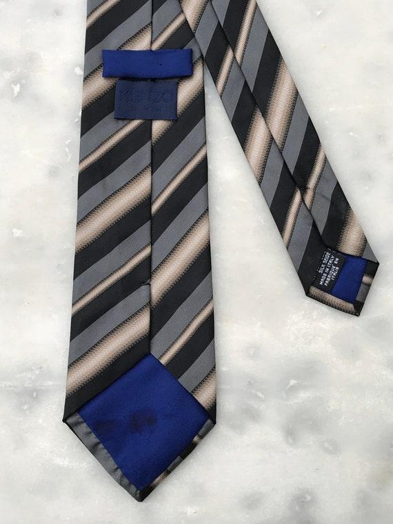 Kenzo silk scarf - Cravate Kenzo 100% soie