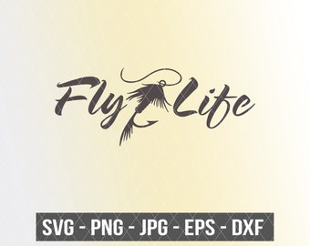 Download Fly Fishing Svg File Etsy