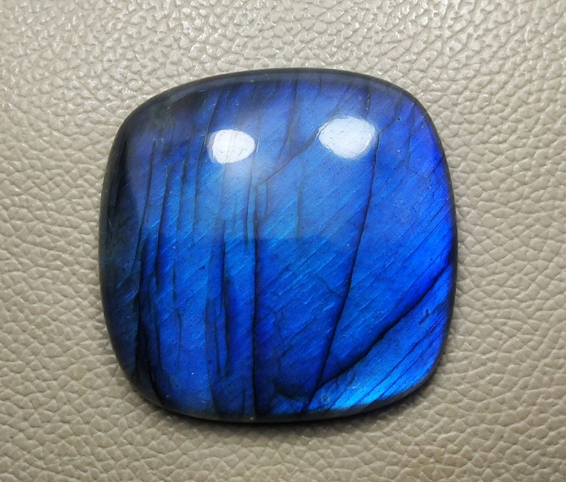 AAA+Quality Natural 53mm Cushion square Labradorite Gemstone Beautiful Labradorite Gemstone For Healing   To Make Jewellry Use For Pendant