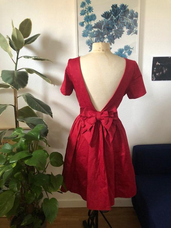 Vintage Laura Ashley ribbon dress