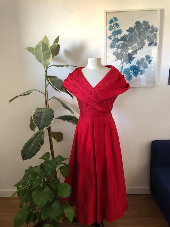 Vintage Silk Laura Ashley gown
