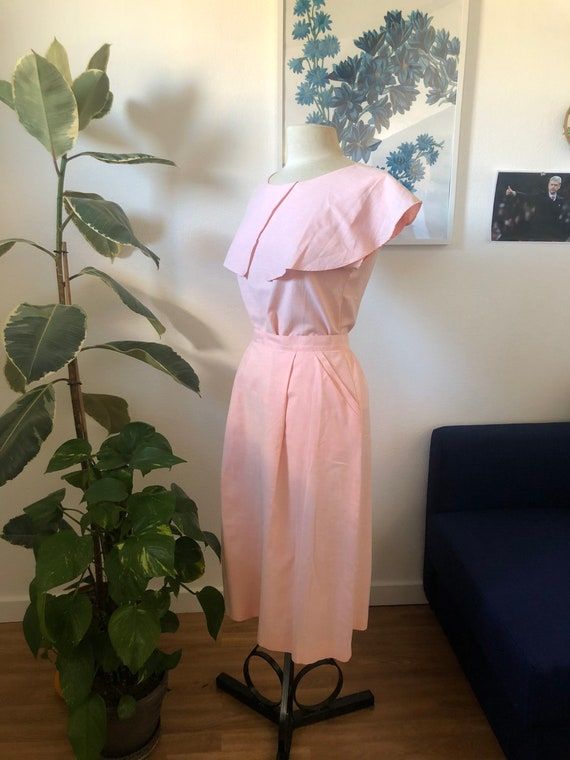 Pierre cardin vintage soft pink ensemble
