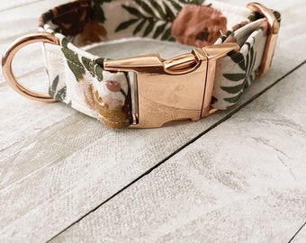 Olivia and Lemon Wildflower Print The Wildflowers Spring Flowers Floral Dog Collar