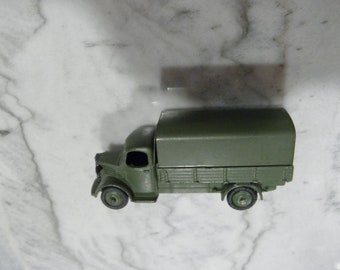 Dinky 30 SM Austin military covered wagon