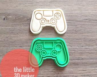 Playstation Controller Cookie Cutter//Fondant Cutter//Playdoh Cutter