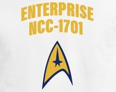 USS Enterprise NCC-1701 Digital Cut File Star Trek SVG Cricut Design Silhouette Cameo PnG DxF EpS Spock Captain Kirk