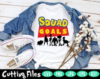 Toy Story ~ Squad Goals ~ Pixar ~ Disney ~ Bodysuit ~ T-shirt