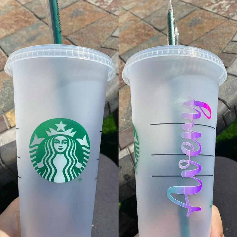 Personalized Starbucks Cold Venti Cup Custom Gift Idea Valentine/'s Day Mom/'s