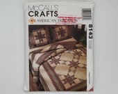 McCall 39 s 8143 (1995) American Tradition Quilt - Vintage Uncut Quilt Pattern