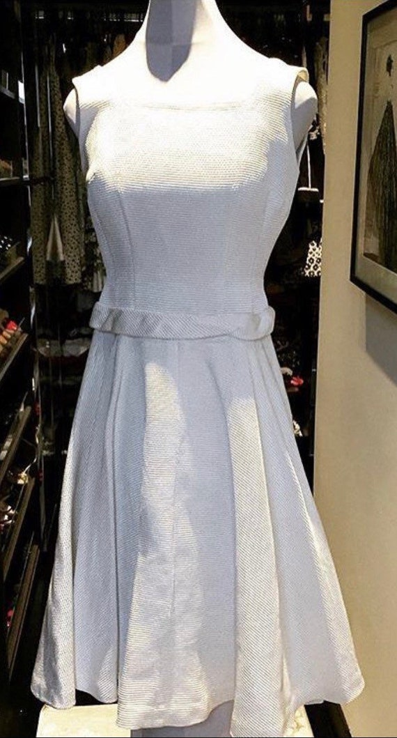 Anne Fogarty White Dress