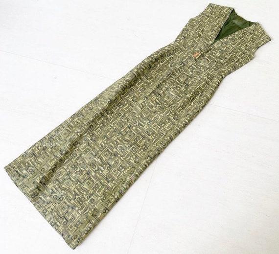 80's Silk Brocade