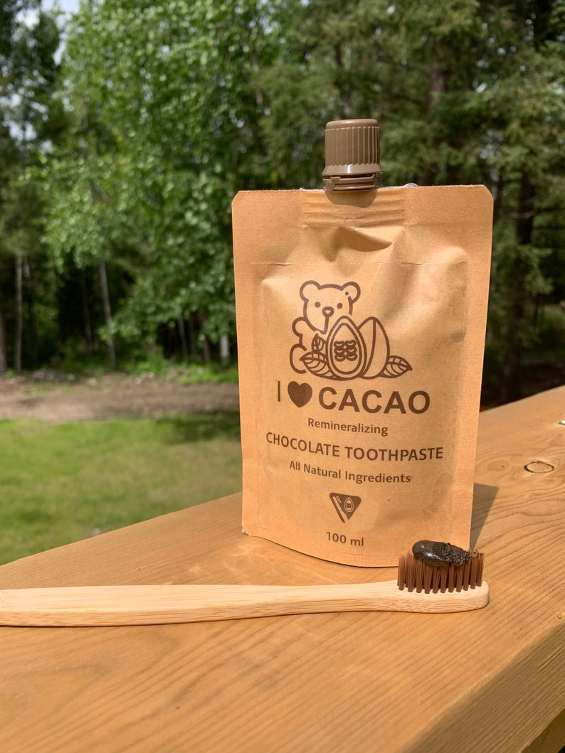 Cacao Chocolate Remineralizing Toothpaste  Mint Free image 0