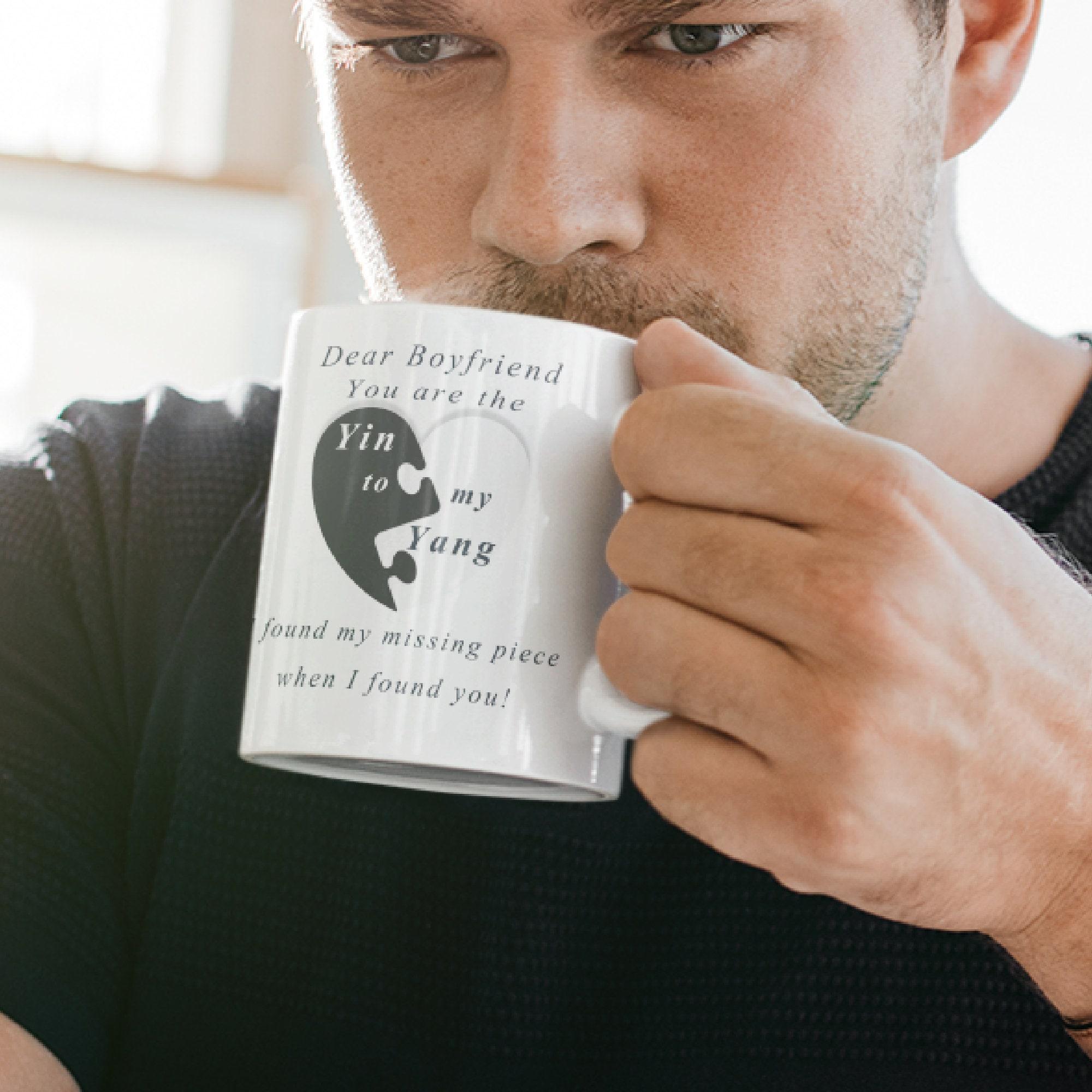 Lieber Freund Sie sind das Yin zu meinem Yang Kaffeebecher