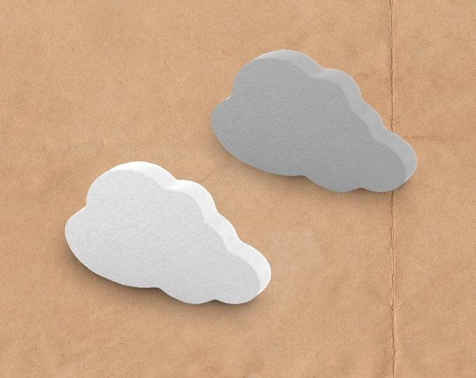 Cloud Drawer Knobs, Cloud Knob, Nursery Knobs, Large Knobs, White Dresser Knobs, White Drawer Knobs, Hemnes Dresser Knobs