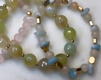 Summer Stack - Mala Bracelets (set of 3)