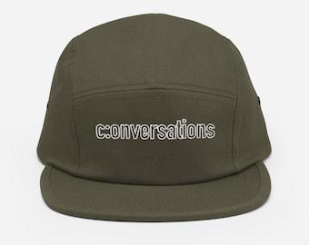 Conversations Five Panel Cap