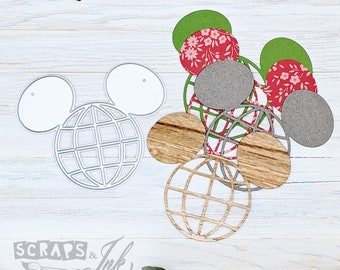 WORLD MOUSE Metal Cutting Die for Paper Crafting