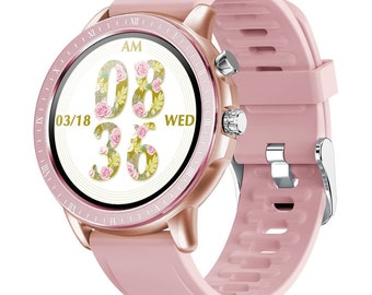 S02 couple smart watch New Smart Watch for Men Women with Heart Rate Monitor