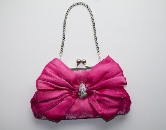 Handbag women's clutch bag satin theatrical vintag