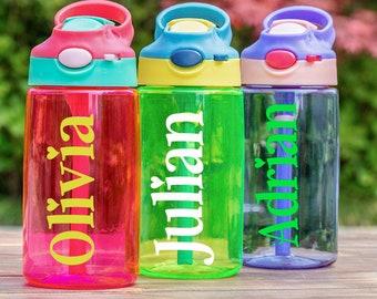 Personalized Water Bottle Back to School Gift Kids Water Bottle