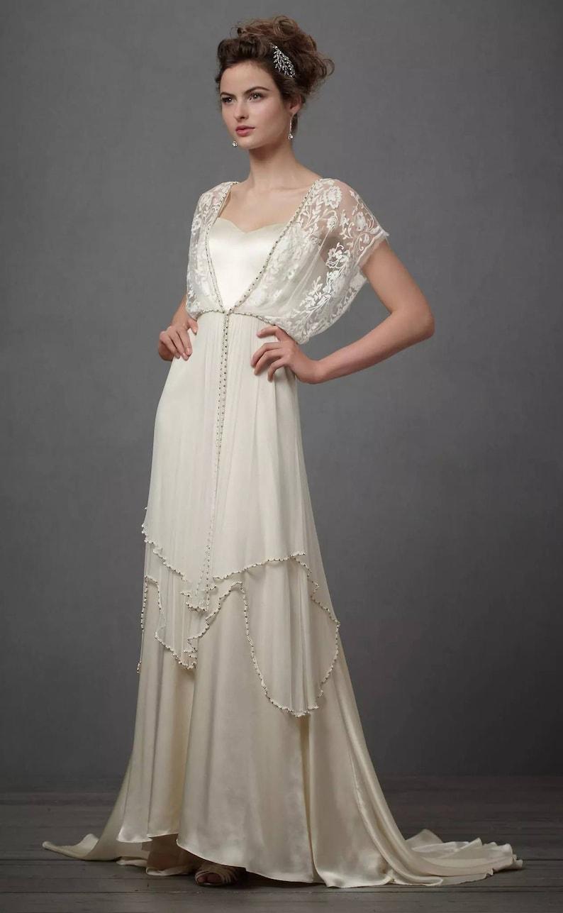 Vintage-Brautkleid - viktorianisch