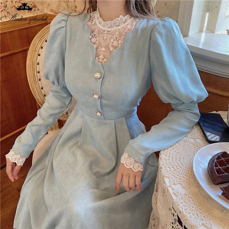 Victorian Dresses | Victorian Ballgowns | Victorian Clothing Vintage Josephine Dress Victorian Dress Victorian Dress Abiti vittoriani Robe victorienne Viktorianisches Vintage Dress French $53.29 AT vintagedancer.com