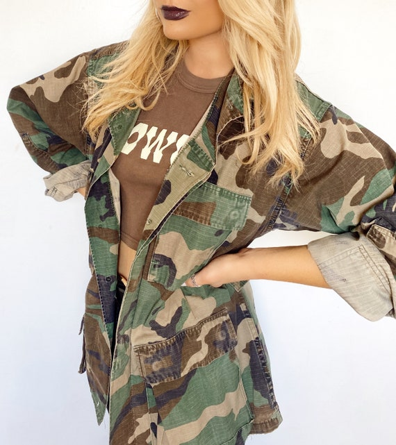 Authentic Military Camouflage Jacket