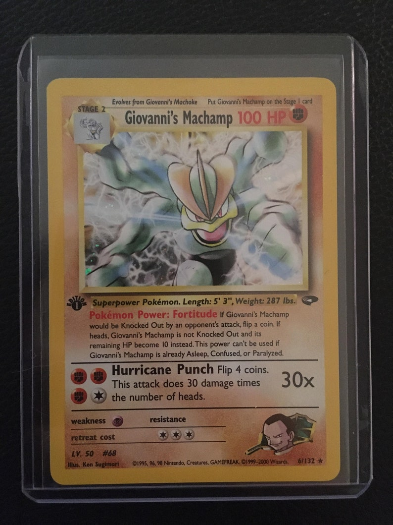 1st Edition Included* 10 Vintage Wotc Pokemon Card LOT Vintage Booster Pack! Near Mint NM First Generation