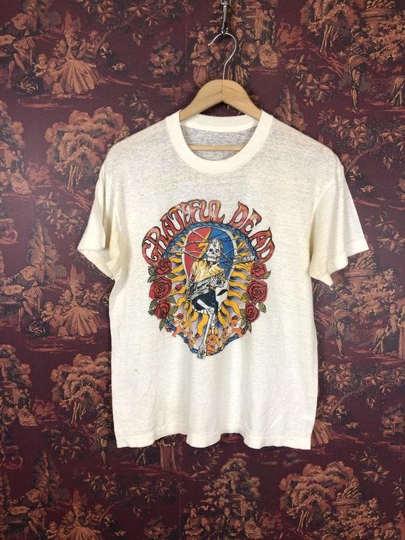 Grateful Dead paper thin 1987 tour shirt