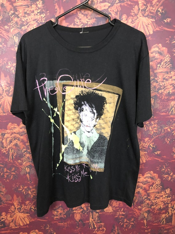 The Cure Kissing Tour shirt
