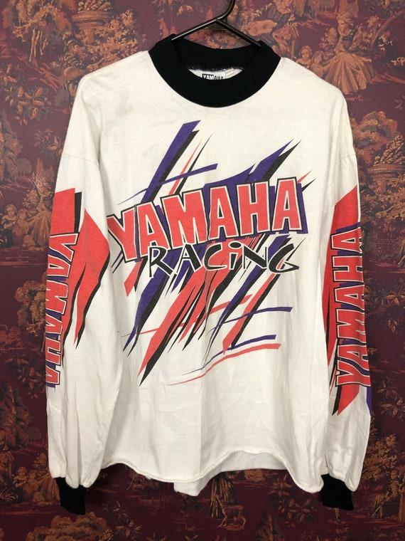 Yamaha racing long sleeve shirt