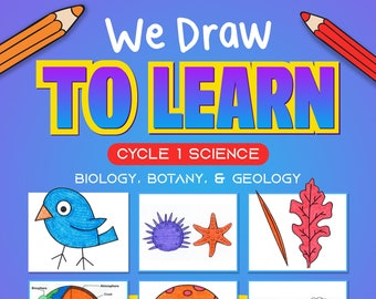 Cycle 1 Science Memory Work - 5th Ed. - We Draw to Learn - Drawing Tutorials