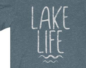 Lake Life | Unisex Bella + Canvas T-Shirt | Lake Shirt | Beach | Summer Fun | FREE SHIPPING