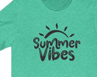 Summer Vibes | Unisex Bella + Canvas T-Shirt | Summer Shirt | Lake | Beach | FREE SHIPPING