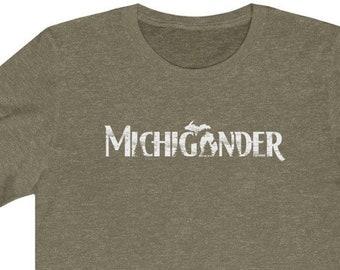 Michigander T-Shirt | Bella+Canvas | Unisex Short Sleeve | Michigan Clothing