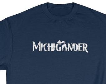 Michigan Sweatshirt Michigander | Michigan Clothing | Crewneck Sweatshirt | Michigan Gifts | Michigander