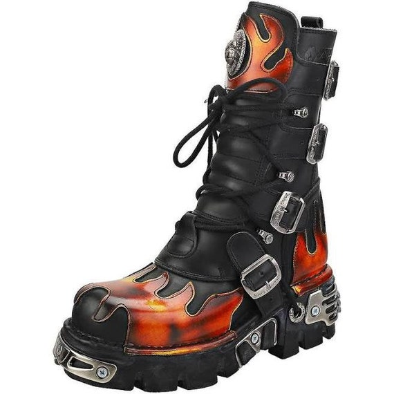 New Rock One Flame Boots