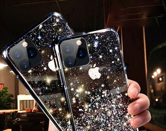 iPhone 13 pro max case, iPhone 12 case, Glitter Bling Mirror Case , Glitter Soft iPhone case for iPhone 12 pro max, iPhone 13 Pro Max Case