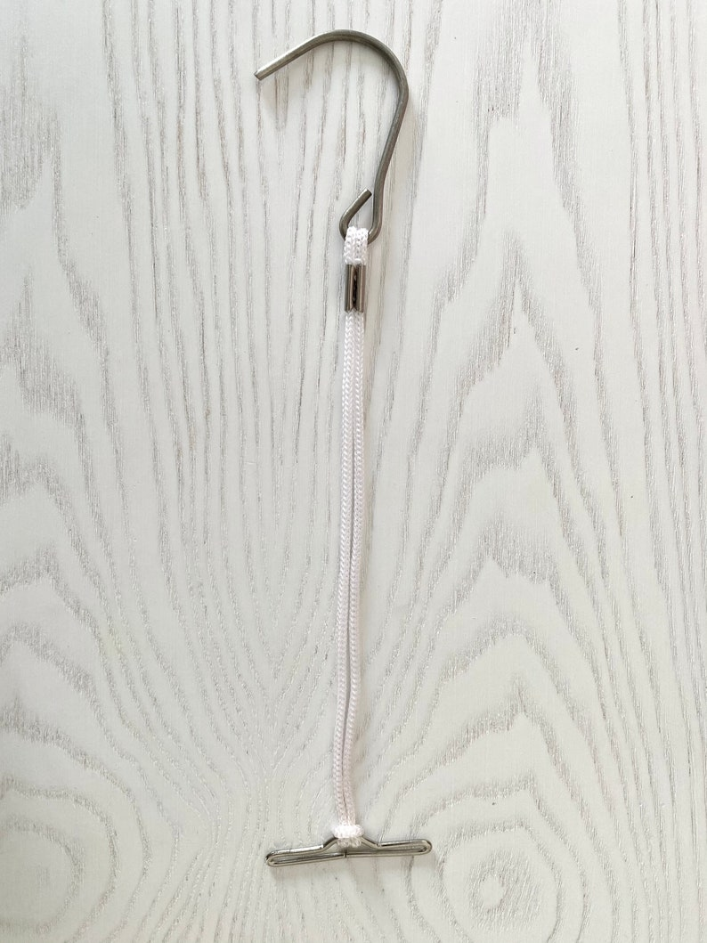 12 dozen Pattern hook hangers with cord for sloperspattern block