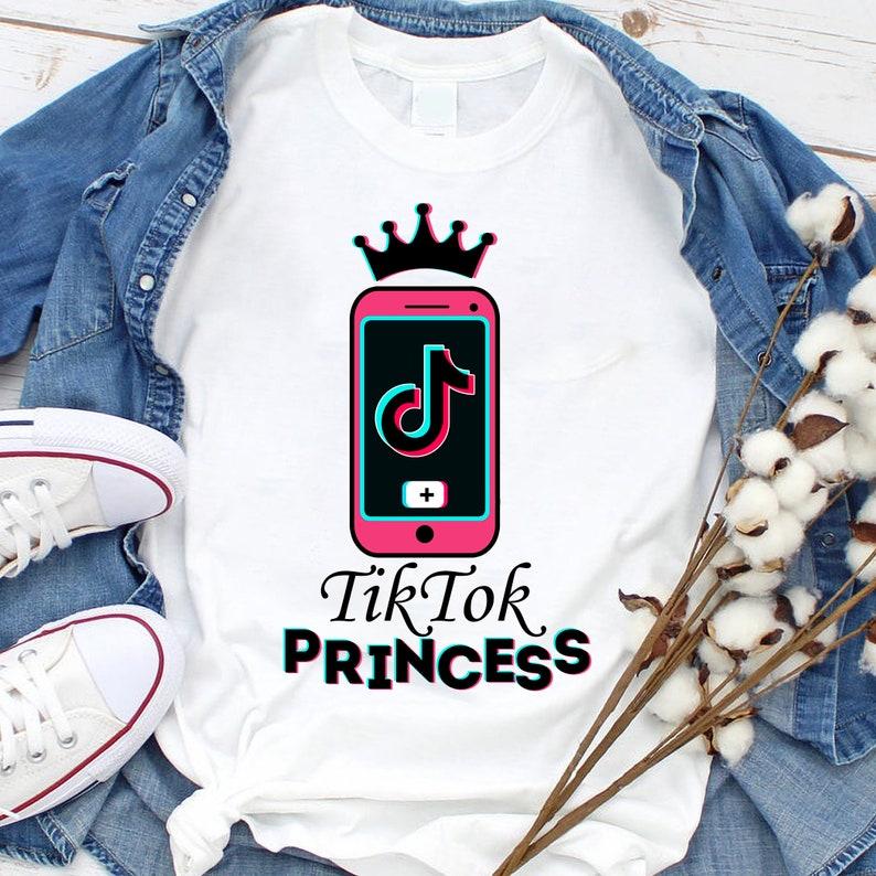 Tiktok Princess Svg Png Tiktok Lover Svg Png File for Cricut Tiktok Svg Png