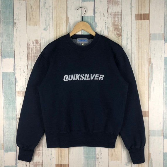 Vintage Quicksilver Embroidery Logo Sweatshirt