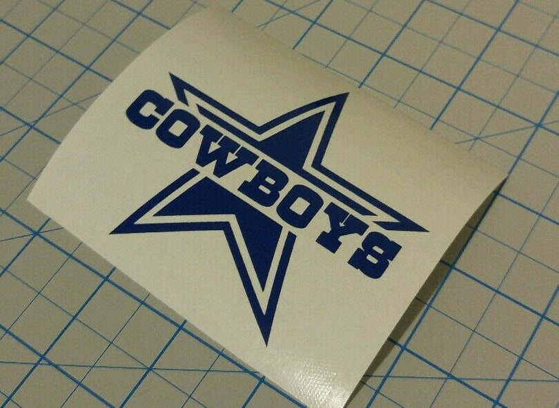 rambler tumbler car truck window buy2get1free Dallas cowboys decal sticker yeti