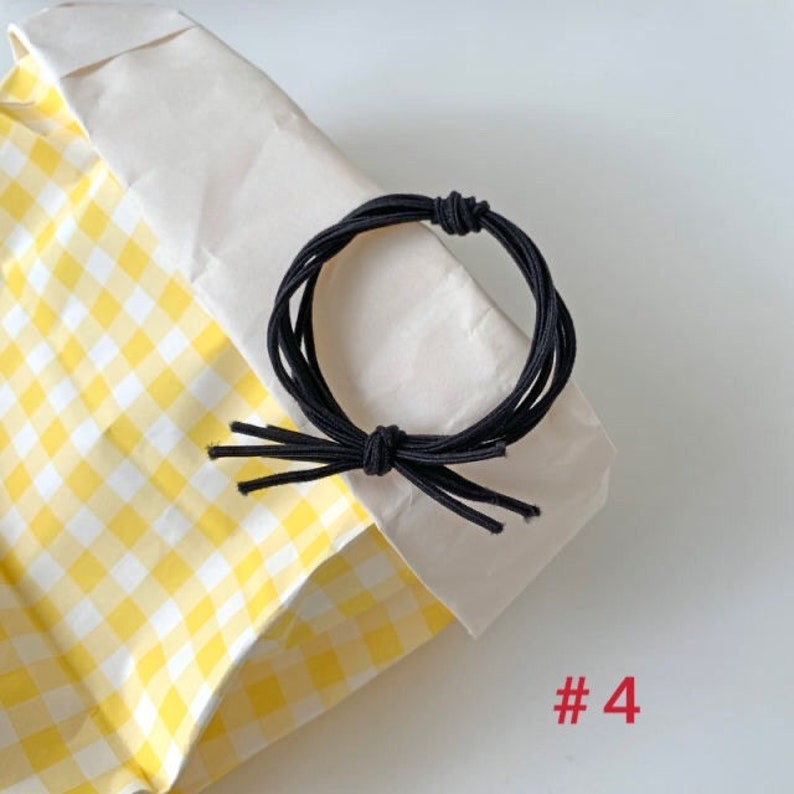 Hairbands 20pcs hairties Daily hair ties Nylon hairties Elastic Hair ties