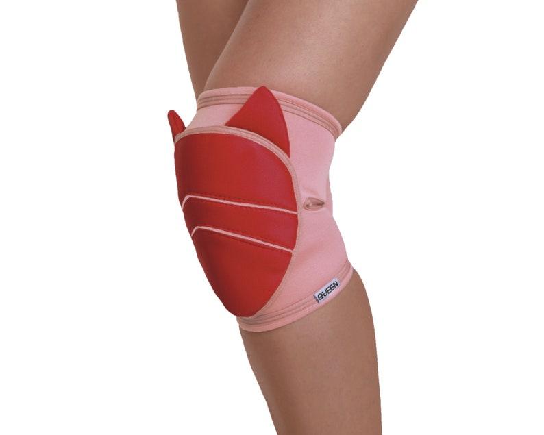 Knee pads pole dance cheerleading uniform knee pads protection wrestling floorwork knee pads yoga knee brace grip knee pads for dancing
