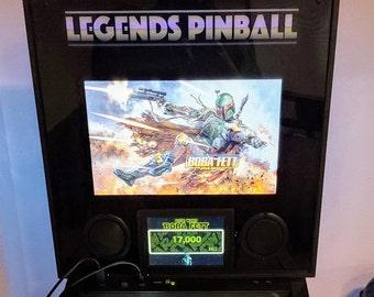 Legends Pinball LCD Screen Bezel - AT Games - dmd - ALP